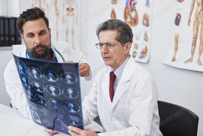 Always very carefully analyze the medical results
