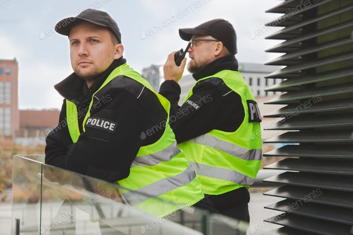 Police Officers strive to keep the streets of their community safe