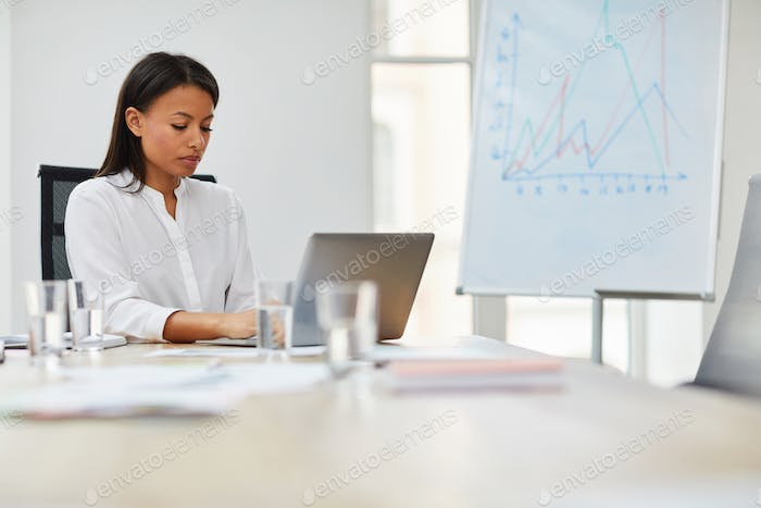 Female Boss at Work