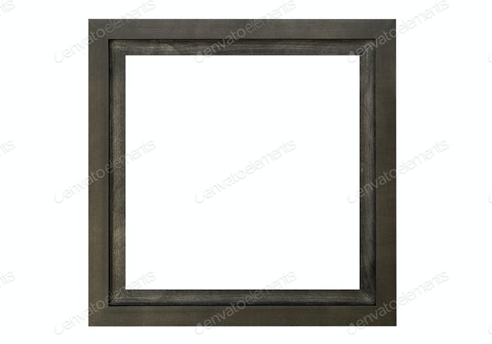 High Resolution Empty Frame Isolated on White Background