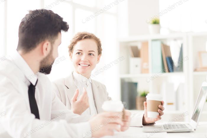 Coffee break at office