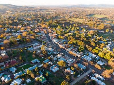 Aerial view of Maldon
