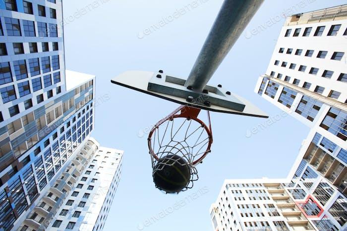 Background Basketball Hoop