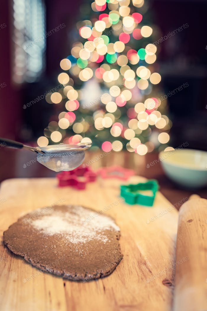 Making Christmas Gingerbread Cookies Photo By Mblach On Envato Elements
