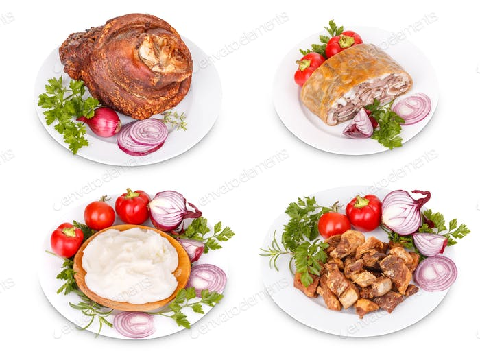 Pork meat products