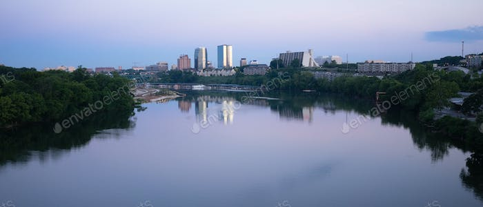Knoxville Downtown City Skyline Tennessee River Eastern Tennesse