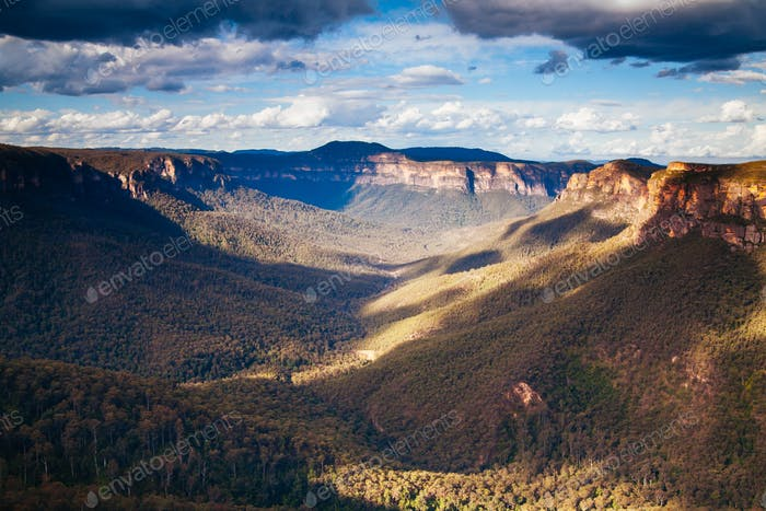 Blue Mountains Valley View in Australia