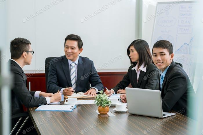 Process of negotiation