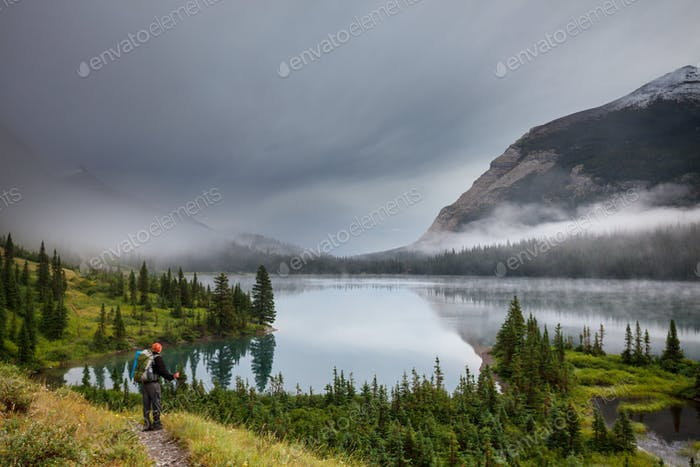 Hike in Glacier Park