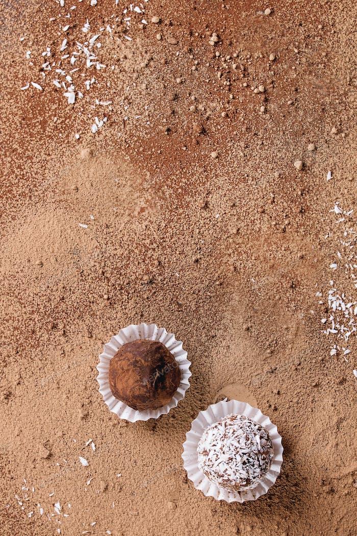 Thumbnail for Handmade chocolate truffles