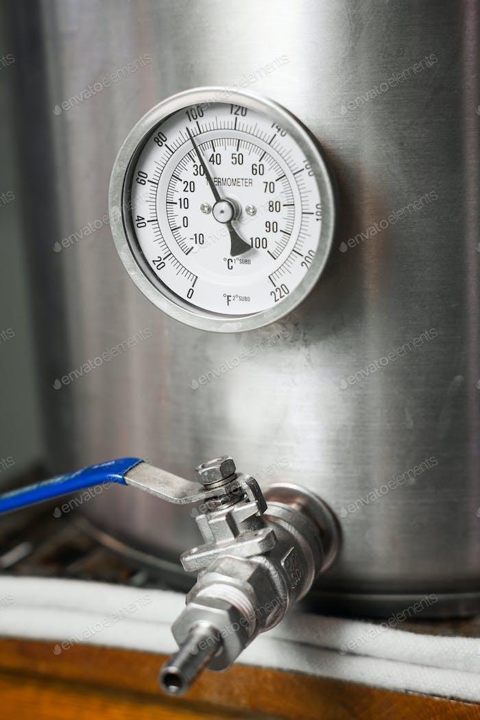 Kühlung einer Home-Brew Bierwürze