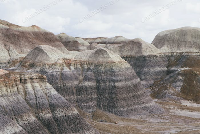 View of the Painted Desert/Petrified Forest National Park