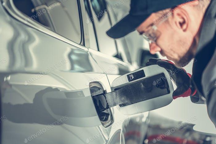 Gas Fueling Intake Problem