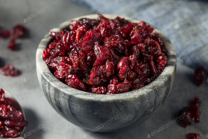Healthy Organic Dried Cranberries