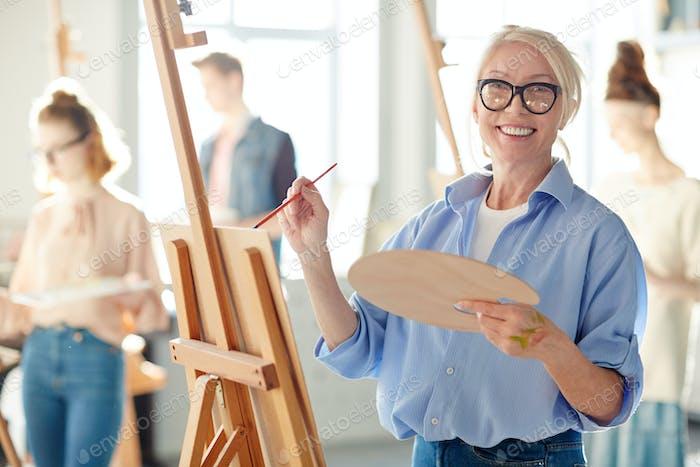 Teacher of painting