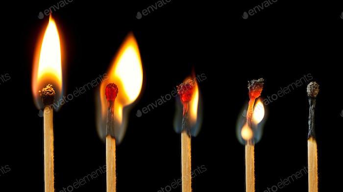 Burning Match Series