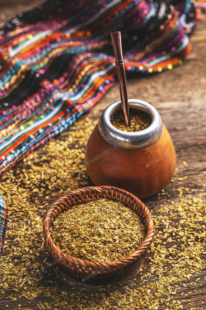 Yerba mate-South American tea