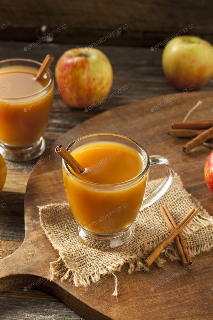 Warm Hot Apple Cider