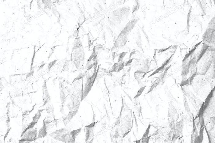 Zerknitterte PapiertexturVorlage für Overlay