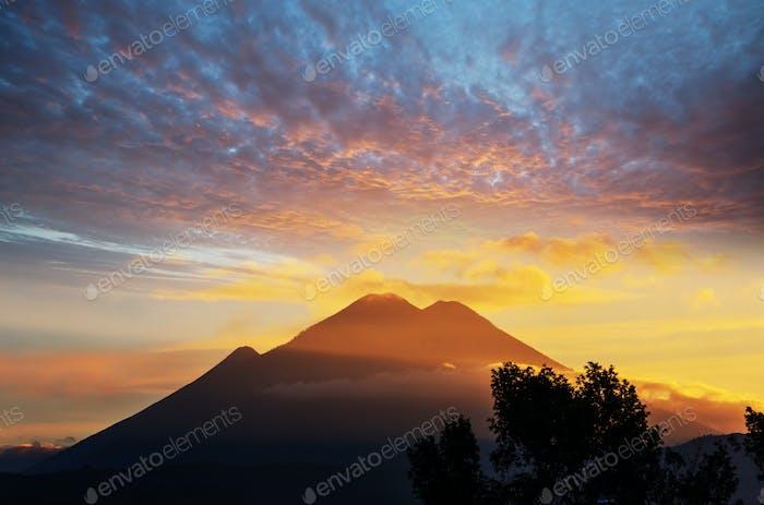 Volcano in Guatemala