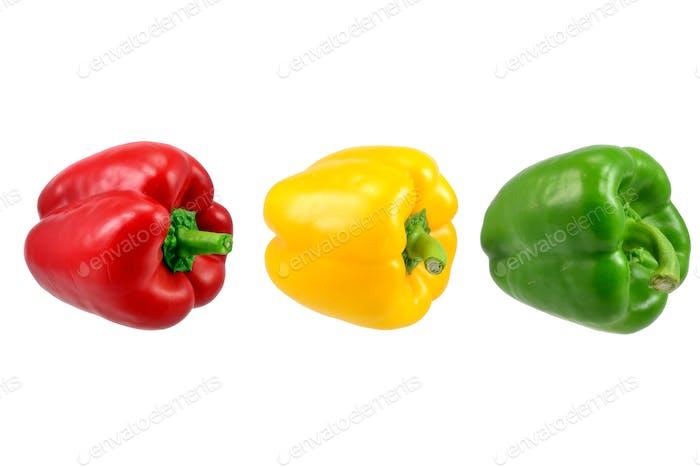 A Row of Paprika