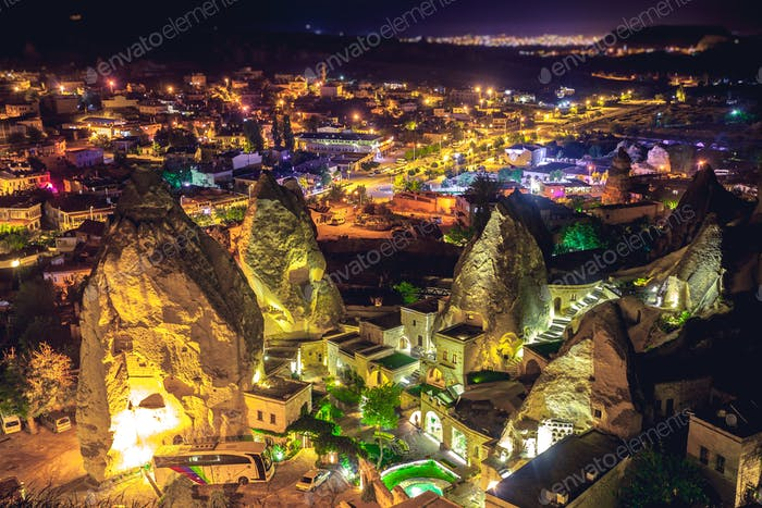 Cappadocia Ancient town in Turkey