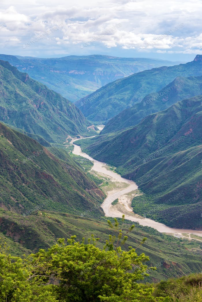 Chicamocha Canyon Vertical