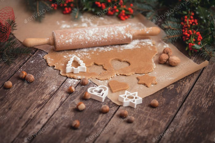 Peanut cookies for winter evening