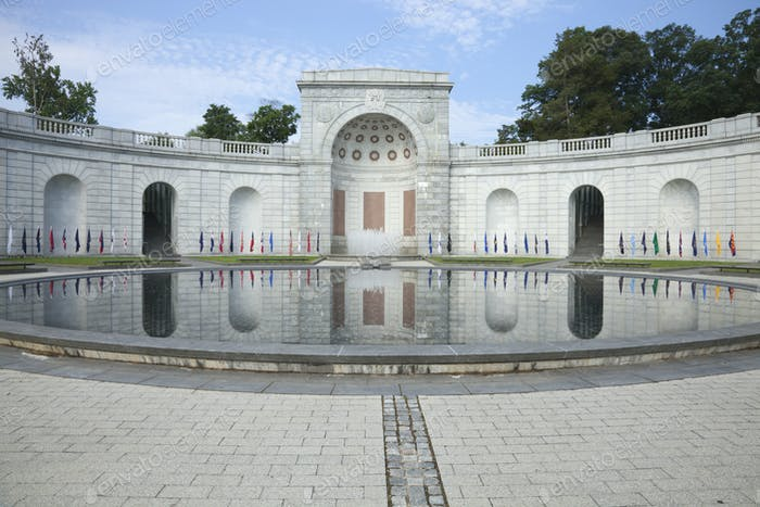 Women in Armed Forces Memorial at Arlington National Cemetery