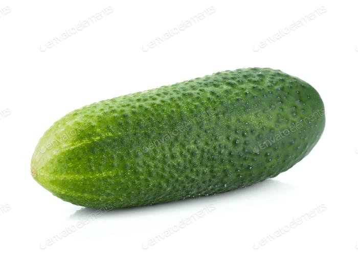 Ripe cucumber fruit