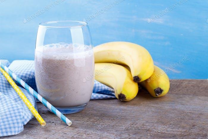 Lait milk-shake banane