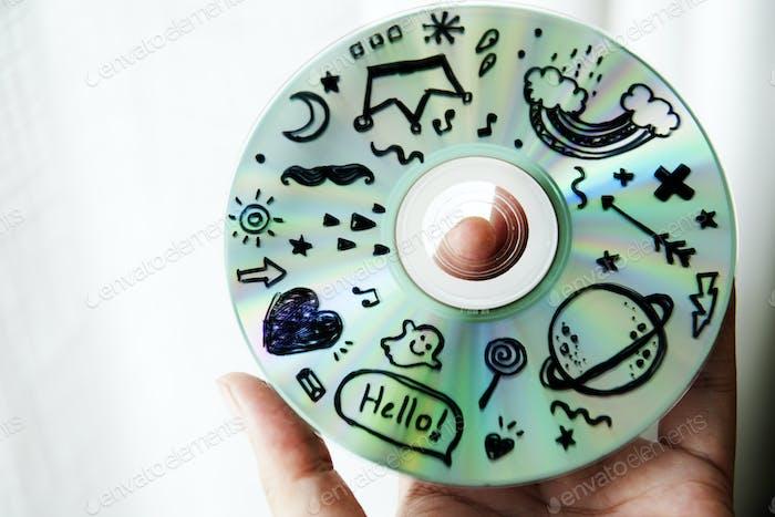 Закрытие картины CD