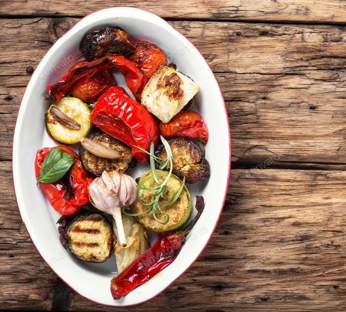 vegan grilled vegetables
