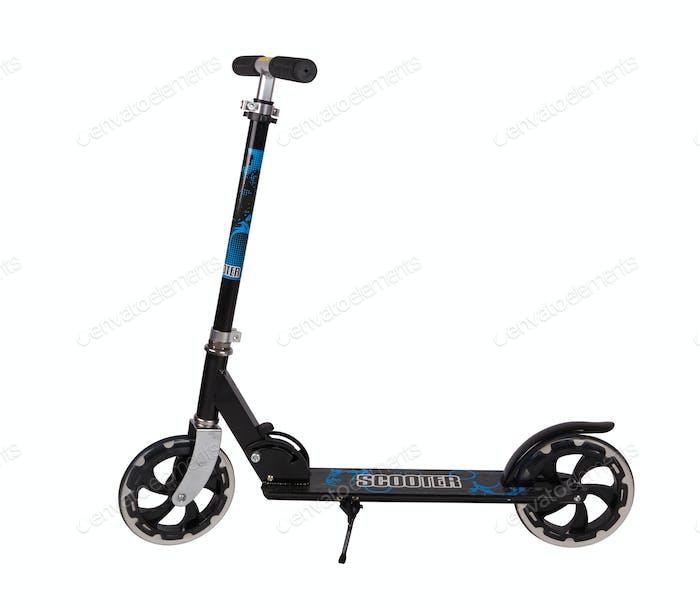 Schwarz Metall-Roller