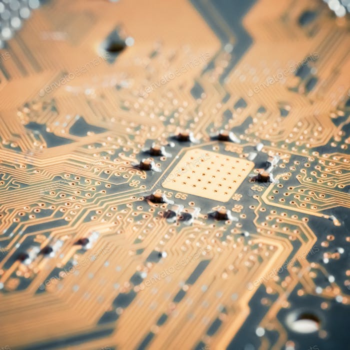 circuit board closeup