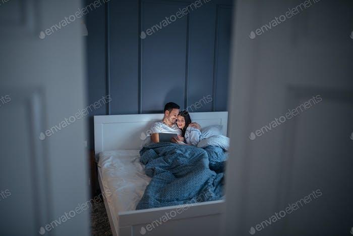 Noche de cine a la hora de dormir