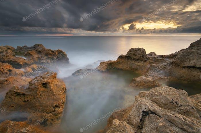 Beautiful seascape nature