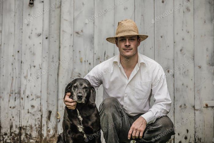 Der Bauer und sein bester Freund