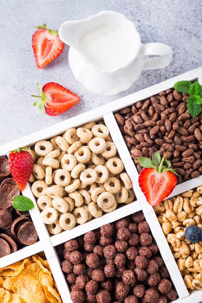 Быстрый завтрак зерновых