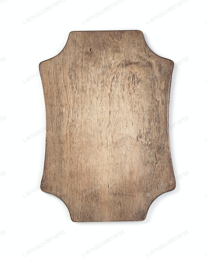 Thumbnail for wooden sign board isolated on white