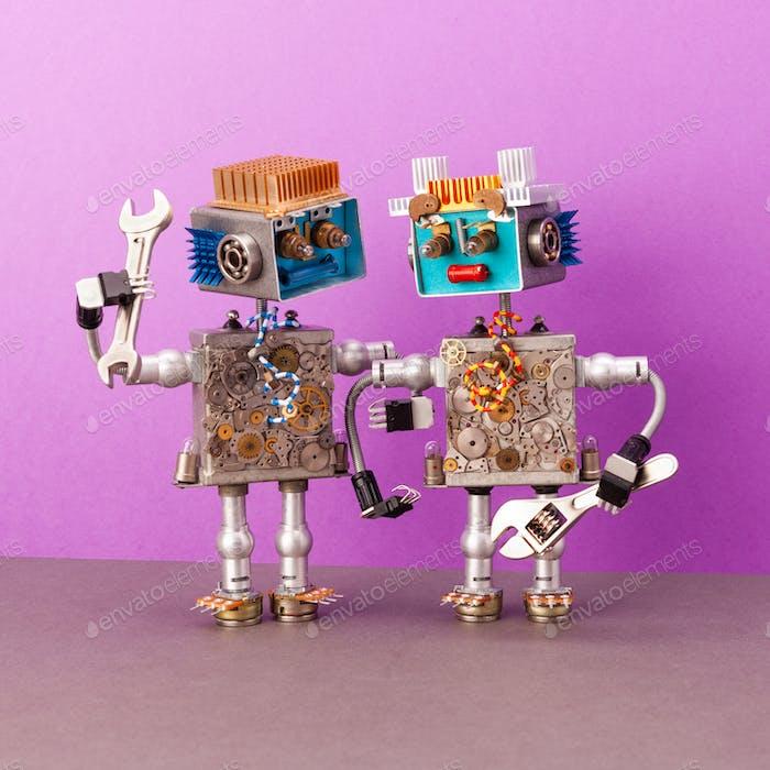 Reparaturservice für Robotik-Elektronik-Wartung.
