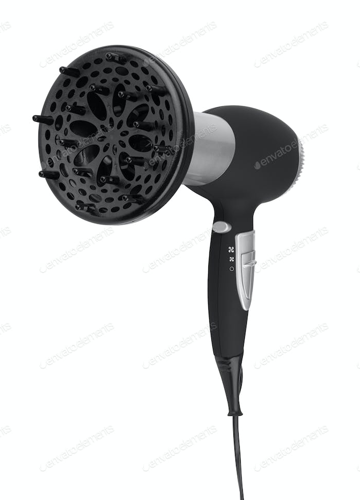 Hair dryer isolated