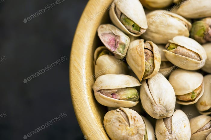 Pistachio nuts with shell