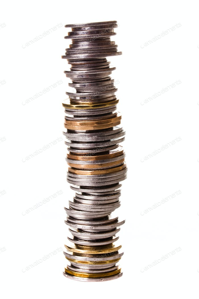 Big pile of little coins