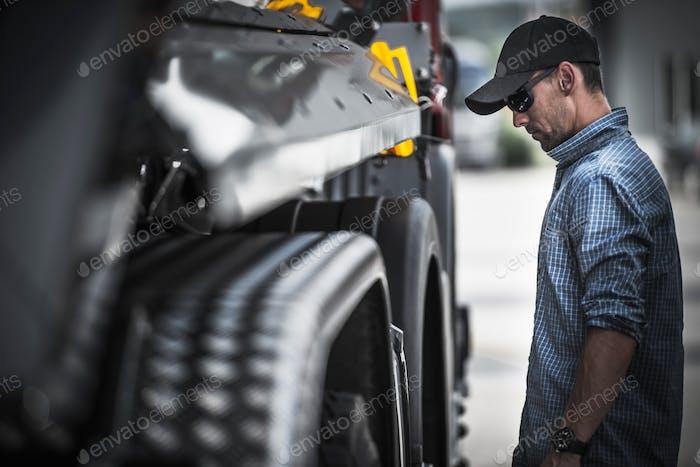 Truck Driver Load Check