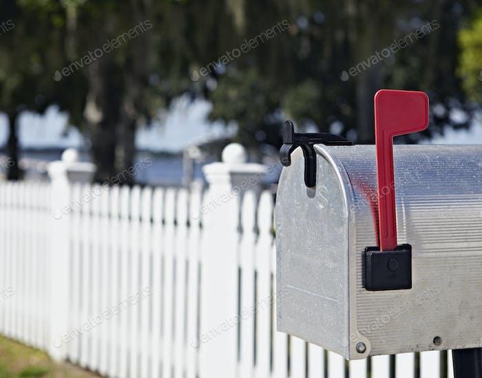 Жилой почтовый ящик