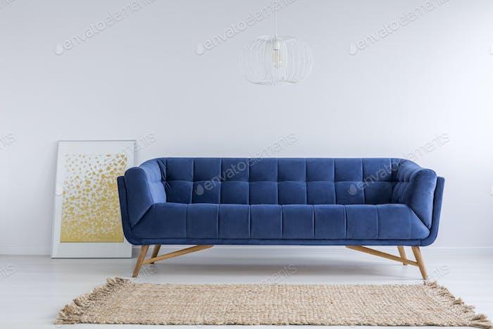 Room with sofa and rug