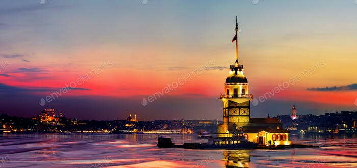 Thumbnail for Maiden Tower Reflection