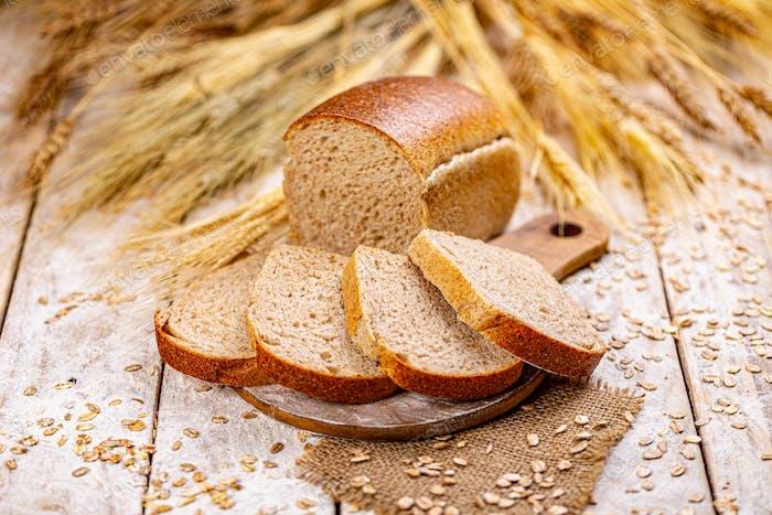 Healthy bread concept