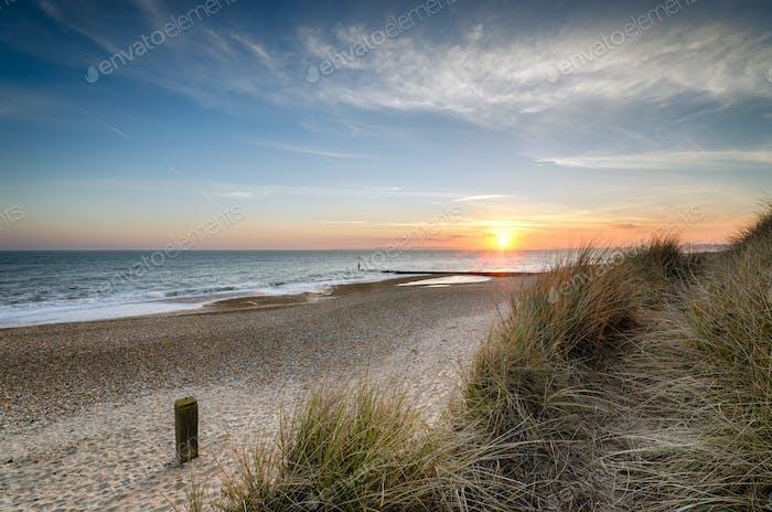 Sunset at Hengistbury Head